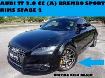 2009 AUDI TT 2.0 (A) BREMBO BRAKE STAGE 2 CARSON FIBER SPORT RIMS