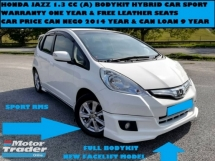 2014 HONDA JAZZ 1.3 (A) HYBRID CAR SPORT WARRANTY ONE YEAR