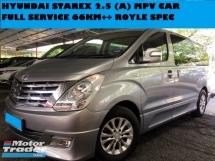 2013 HYUNDAI STAREX 2.5CC DIESEL MPV FULL SERVICE RECORS  66KM MILEAGE
