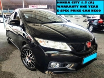 2014 HONDA CITY 1.5 (A) E SPEC V SPORT RIMS FULL LEATHER SEATS