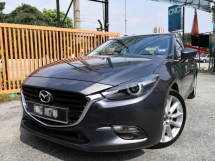 2017 MAZDA 3 2.0 GVC HATCHBACK/SEDAN