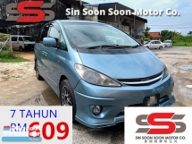 2000 TOYOTA ESTIMA 2.4 PREMIUM MPV FULL Spec(AUTO)2000.03 Only 1 UNCLE Owner, 95K Mileage, TIPTOP, ACCIDENT-Free, DVD, GPS & REVERSE Cam, BODYKIT