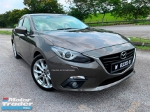2014 MAZDA 3 2.0 SEDAN (A) CBU SKYACTIVE SUNROOF