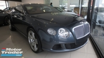 2012 BENTLEY CONTINENTAL GT 6.0 Mulliner Coupe