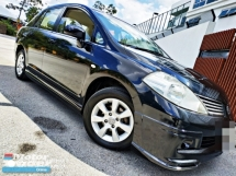 2009 NISSAN LATIO 1.6L ST-L LOan Kredit Muka3990