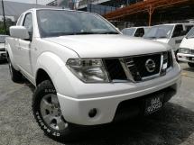 2012 NISSAN NAVARA 2.5L 4X4 SINGLE  KING CAB