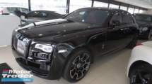 2017 ROLLS-ROYCE GHOST Black Batch ( Worldwide Limited Unit ) ( Very Rare In Market )