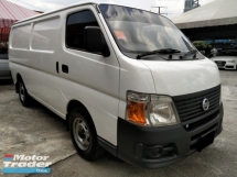 2011 NISSAN URVAN 3.0 (M) FULL PANEL VAN