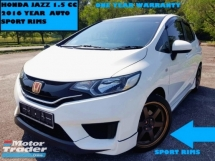 2016 HONDA JAZZ 1.5 (A) FULL BODYKIT SPORT RIMS WARRANTY ONE YEAR CAR PRICE CAN NEGO