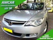 2007 HONDA CIVIC 1.8S I-VTEC (A) FD [SELL BELOW MARKET] 1 OWN