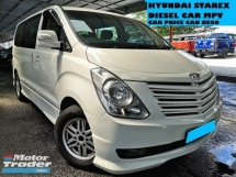 2009 HYUNDAI STAREX 2.5 DIESEL ROYALE MPV WARRANT ONE YEAR CAR PRICE CAN NEGO