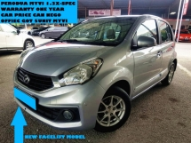 2015 PERODUA MYVI 1.3 X SPEC NEW FACELIFT  CAN FULL LOAN CAR PRICE CAN NEGO