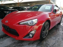 2014 TOYOTA 86 2.0 GT UNREG (RECOND)