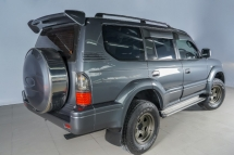 1997 TOYOTA PRADO LANDCRUISER 3.0 1KZ INTERCOOLER TURBO AUTO DIESEL EURO 5- CKD MODEL - 4pcs king spring & Bilstein absorber - super pro bushings complete whole car - high quality aluminium radiator top grade extra transmission cooler -and many extra -