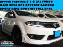 2013 PROTON SUPRIMA S 1.6 (A) TURBO FULL SPEC FULL LEATHER SEATS NAVI GPS REVERSE CAMERA SPORT RIMS