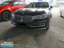 2016 BMW 7 SERIES 730Li FULL SERVICE RECORD UNDER WARRANTY
