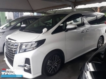2016 TOYOTA ALPHARD 2.5  G S C Package MPV