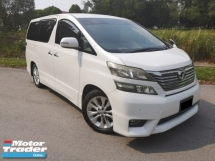2010 TOYOTA VELLFIRE 2.4 (A) ZP REGISTERED 2015 -  2 DIGIT NUMBER