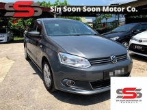 2014 VOLKSWAGEN POLO 1.6 PREMIUM FULL Spec(AUTO)2014 Only 1 UNCLE Owner, 77K Mileage, TIPTOP, ACCIDENT-Free, with VOLKSWAGEN SERVICE RECORD