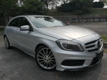 2013 MERCEDES-BENZ A-CLASS Mercedes Benz A180 1.6 (A) AMG SPEC HP122 KMH203 7SPEED