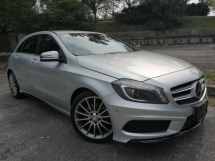 2013 MERCEDES-BENZ A-CLASS Mercedes Benz A180 1.6 (A) AMG SPEC HP122 KMH203 7SPEED