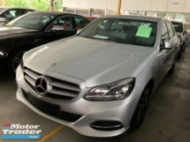 2014 MERCEDES-BENZ E-CLASS E250 avantgarde 2.0 unregistered