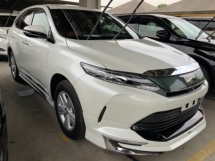 2017 TOYOTA HARRIER 2.0 Surround camera power boot unregistered