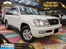 2000 TOYOTA LAND CRUISER 4700  CYGNUS 4X4 SUNROOF ELECTRIC LEATHER SEAT