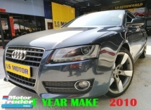 2010 AUDI A5 2.0 TFSI QUATTRO SPORTBACK - MMI - B&O - FULL LEATHER - REVERSE CAMERA - S LINE RIM - 4NEW TYRE - 1OWNER - ACC FREE - WELL MAINTAIN - NO REPAIR NEEDED - VIEW TO BELIEVE......