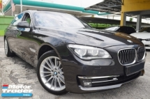 2013 BMW 7 SERIES 730Li 3.0 (A) CBU FACELIFT FULL SERVICE RECORD