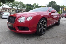 2013 BENTLEY CONTINENTAL GT V8 2013 IMPORTED NEW