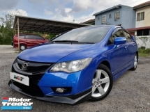 2010 HONDA CIVIC REG 11 1.8 (A) FD I-VTEC TIP TOP CONDITION LEATHER SEAT FULL BODYKIT RAYA PROMOTION PRICE.