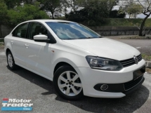 2011 VOLKSWAGEN POLO 1.6 (A) CBU MODEL 6SPEED HP105 R/CAM GPS