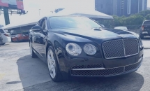 2013 BENTLEY FLYING SPUR 6.0 W12 MULLINER