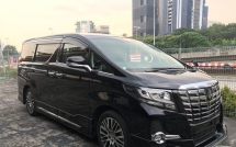 2016 TOYOTA ALPHARD 2.5 GSC PACKAGE