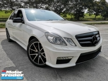 2011 MERCEDES-BENZ E-CLASS MERCEDES BENZ E250 1.8 AMG PUSH START ONE YEAR WARRANTY