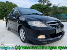 2009 HONDA CITY 1.5 (A) VTEC Facelift Mugen Bodykit Very Good Condition Accident Free No Repair Need Worth Buy