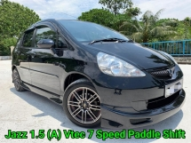 2009 HONDA JAZZ 1.5 (A) VTEC Facelift 7 Speed Mode Paddle Shift Smooth Running Condition Accident Free Worth Buy