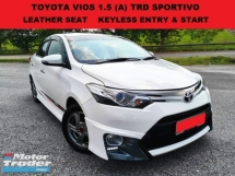 2014 TOYOTA VIOS 1.5 TRD SPORTIVO (A) LEATHER SEAT KEYLESS ENTRY & START