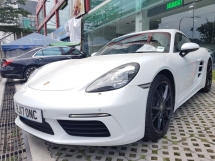 2017 PORSCHE CAYMAN CAYMAN 2.0 TURBO (UNREG) 2017 LED SMOKE PACKAGE