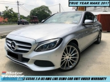 2017 MERCEDES-BENZ C-CLASS C350E AMG LINE DEMO CAR UNDER WARRANTY