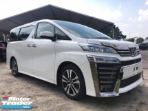 2018 TOYOTA VELLFIRE 2.5ZG Edition New Model