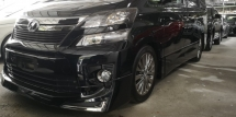 2013 TOYOTA VELLFIRE GOLDEN EYES2 2.4 / READY STOCK HARI RAYA OFFER / HARGA MURAH AND TIPTOP CONDITION STOCK / ALPHINE