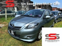 2013 TOYOTA VIOS 1.5 PREMIUM FULL Spec(AUTO)2013 Only 1 LADY Owner, 63K Mileage, TIPTOP, DIRECT-Owner, with FULL TOYOTA RECORD & SPORT BODYKIT AIRBEGs
