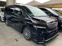 2017 TOYOTA VELLFIRE 2.5 ZG sunroof sunroof power boot surround camera unregistered
