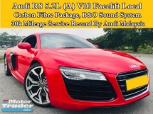 2013 AUDI R8 5.2L V10 (A) Local CBU Full Service Record 30k Audi Malaysia