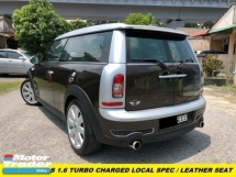 2008 MINI Clubman CLUBMAN LOCAL SPEC TURBO CHARGED ENGINE PANAROMIC ROOF WITH SUNROOF PADDLE SHIFTER