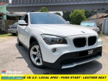 2012 BMW X1 SDRIVE18I LOCAL SPEC MEMORY SEAT LEATHER SEAT PUSH START AUTO HEADLAMP
