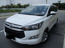 2017 TOYOTA INNOVA 2.0G (AT) 15000km miles japanese owner new model warranty till 2022