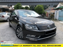 2014 VOLKSWAGEN PASSAT 1.8 COMFORT PLUS WARRANTY TILL 2022 FULL SERVICE RECORD LEATHER SEAT ELECTRIC SEAT